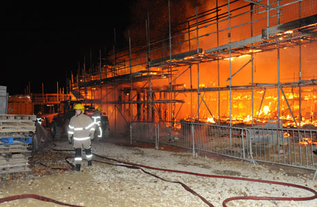 Building-Site-Fire